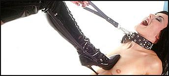stiefel beim sex poloch lecken